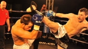 Johnny Smith faced Anthony Riggio K1 kickboxing rules - VIDEO