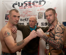 Needle Match Is Inked As Tattoo And Body Piercing Store Cusick Back The Belfast