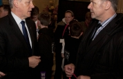 Prokick's head instructor with First Minister