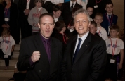 Gary Fullerton with First Minister
