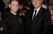 Leith Braiden meets First Minister