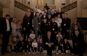 Prokick group at Stormont with First Minister, Thanks Sir.