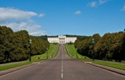 View of Stormont Estate, Belfast for the Prokick team visit