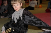 Tristan the Werewolf at the kids fancy dress special.119