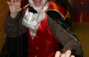 Count Kickula at the fancy dress special.44