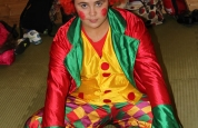 Kelsy Clowning around at the fancy dress special.93