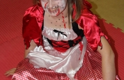 Lauren red riding hood at the fancy dress special.97