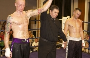 The Iceman wins the Amateur full contact British title.