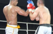 Wamba punches upper cut in Geneva