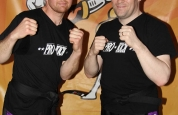 Colin Malcolm Paul Gordon ProKick kickboxing black belts