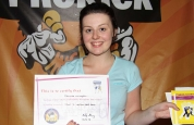 Danielle McLoughlin new kickboxing ProKick yellow belt