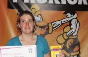 Kathryn Warren new kickboxing ProKick-yellow-belt