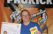 Megan Moran new kickboxing ProKick yellow belt