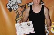 Ross Brown new Kickboxing ProKick Orange belt