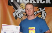 Tim Ramsey new kickboxing ProKick yellow belt