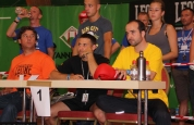 Judges at the World Martial Art Games in Switzerland