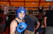 Samantha Robb ready to Box in Geneva
