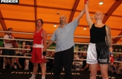 Samantha wins boxing tournment Geneva