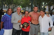 Jerome Le-banner Weigh-in in St Tropez