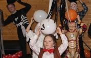 Prokick kids Have Fun at the Halloween special day