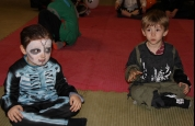 Prokick tiny tots allowed for halloween fun day