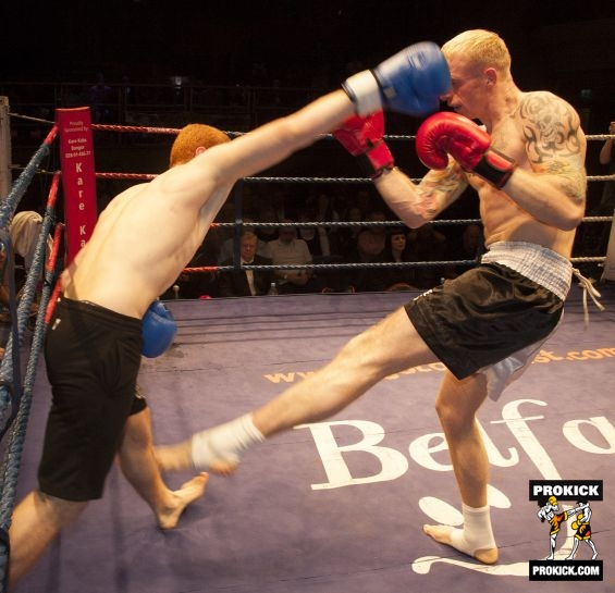 Action with McMullan WKN World title