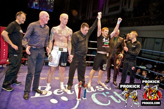 Darren McMullan lost WKN world title