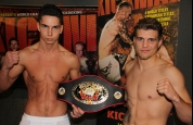 Karl Mcblain faces Kevin Burmester for WKN Title at weigh-ins