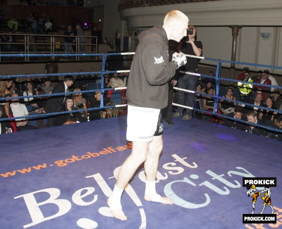 Ready for action McMullan WKN World Title