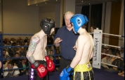 Stephen Houston faces Malachy Mc Donnell in a Demo bout