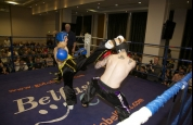 High kick by Malachy Mc Donnell