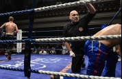 Gary-hamilton knock-down action in Belfast
