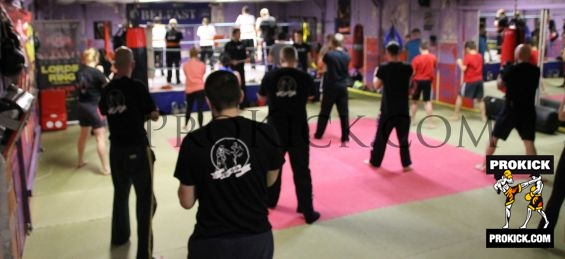kickboxing at the ProKick Gym