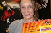 Francine McLoughlin new ProKick orange belt