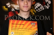 Jordan Finlay Prokick new Orange belt