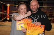 Mr and Mrs McLoughlin at ProKick