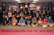 Prokick grading day group