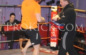 Knee Action at ProKick BootCamp