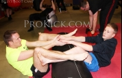 Sit-up Action ProKick Fitness Boot-Camp