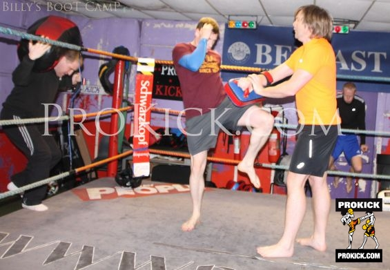 Action In Ring Boot Camp