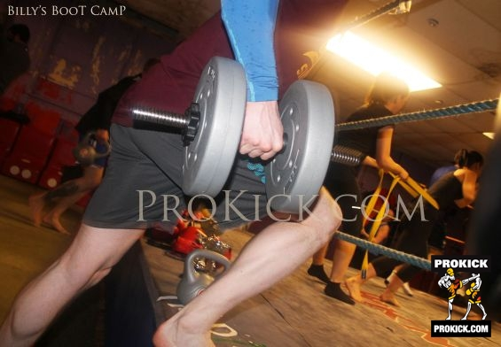 Ring Action at Boot Camp