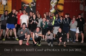 Day-2 at Billy's Bootcamp team ProKick Belfast