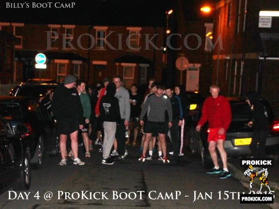 Day 4 and PiggyBacks at ProKick bootcamp