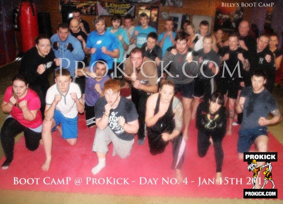ProKick bootcamp team