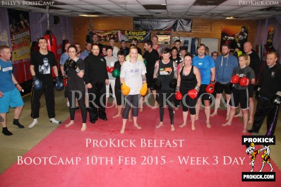 Group at ProKick day 2 of Bootcamp