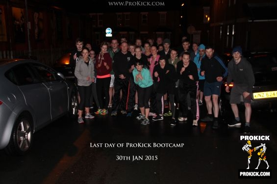 Day 5 Bootcamp team at ProKick