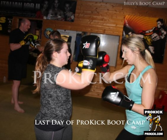 Girl Power at ProKick Bootcamp