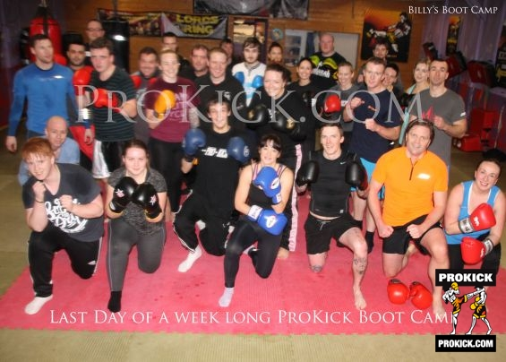 Last Day of ProKick Bootcamp