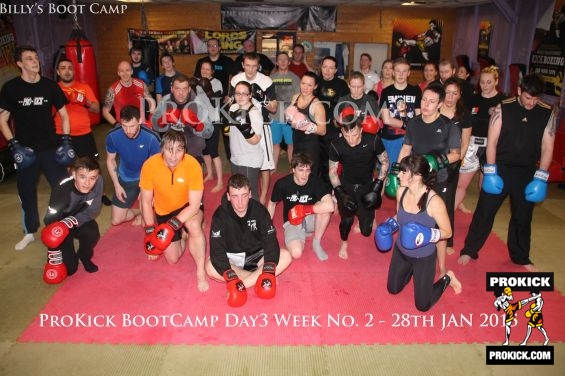 Bootcamp Week 2 day No. 3 at Prokick