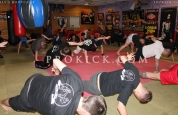 Press-ups at Bootcamp Belfast